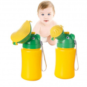 Samber Baby Leakage-proof Potty Urinal Emergency Toilet for Camping Travelling