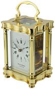 "David Peterson ""Doucine"" Mechanical Carriage Clock, Brass"
