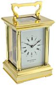 "David Peterson ""Anglais"" Mechanical Carriage Clock, Brass, Large"