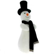 Velvet Top Hat Snowman