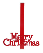 Merry Christmas Holiday Saying Wreath Holder