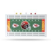 Kansas City Chiefs NFL Football Field Cribbage Board