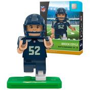 Brock Coyle NFL OYO Seattle Seahawks Generation 4 G4 Mini Figure
