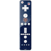 NFL Chicago Bears Wii Remote Controller Skin - Chicago Bears - Alternate Distressed Vinyl Decal Skin For Your Wii Remote Controller