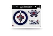 NHL Winnipeg Jets Team Magnet Set, 22cm x 28cm , Blue
