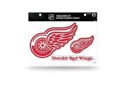 NHL Detroit Red Wings Team Magnet Set, 22cm x 28cm , Red