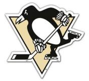 NHL Pittsburgh Penguins 2012 6 Team Logo Magnet, Black