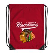 NHL Chicago Blackhawks Team Spirit Backsack, Red, 46cm x 34cm