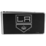 NHL Los Angeles Kings Black & Steel Money Clip