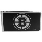 NHL Boston Bruins Black & Steel Money Clip