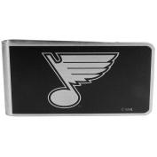 NHL St. Louis Blues Black & Steel Money Clip