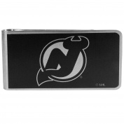 NHL New Jersey Devils Black & Steel Money Clip