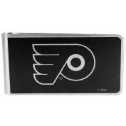 NHL Philadelphia Flyers Black & Steel Money Clip