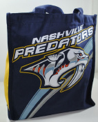 Nashville Predators Canvas Tote Bag w/ Gusset