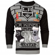 NHL Los Angeles Kings Unisex NHL Ugly 3D Sweater, X-Large