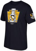 "Pittsburgh Penguins 2017 Stanley Cup Champions ""Stanley Cup Keystone"" Black T-shirt"