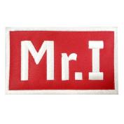 MR I MIKE ILITCH DETROIT RED COMMEMORATIVE MEMORIAL PATCH 7cm x 11cm RARE!