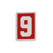 #9 Gordie Howe Home Jersey Patch,