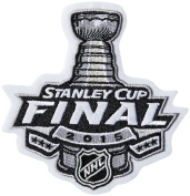 NHL All Teams 2014/2015 NHL Stanley Cup Patch, Small, Black