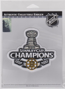 2011 STANLEY CUP CHAMPIONS BOSTON BRUINS STANLEY CUP CHAMPIONS JERSEY PATCH