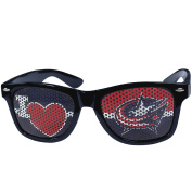 NHL Columbus Blue Jackets I Heart Game Day Shades, Blue, Adult