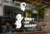 25cm Baby on board Star wars Mini Wader in car Vinyl Stickers Funny Decals Bumper Car Auto Computer Laptop Wall Window Glass Skateboard Snowboard