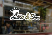 25cm Lowered Car rider Low and Slow Vinyl Stickers Funny Decals Bumper Car Auto Computer Laptop Wall Window Glass Skateboard Snowboard Helmet