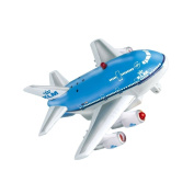 Real Toys KLM Airlines Aircraft Pull Back Toy