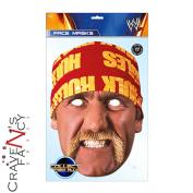 Hulk Hogan Mask Mask-arade Wwe Wrestler Face Mask Impersonation Fancy Dress