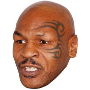 Mike Tyson Celebrity Mask, Card Face And Fancy Dress Mask