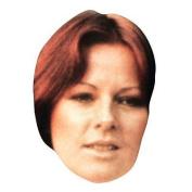 Anni-frid Lyngstad Celebrity Mask, Card Face And Fancy Dress Mask