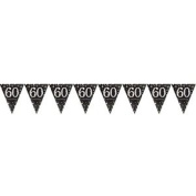 Happy 50th Birthday Pennant Banner - Age 50 Prismatic Party Decoration - 9900570