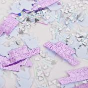 3x Amscan Embossed Party Confetti - Happy Anniversary Design - Pink