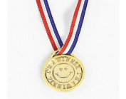 """30cm i'm A Winner"""" Gold Medals For Party Bags & Game Prizes 