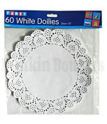 Paper Doilies Pack Of Lace Doyleys Doily Round Catering Party Wedding Large 8b