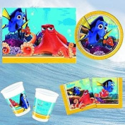 Finding Dory Party Tableware Pack For 8