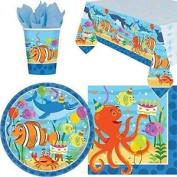 Ocean Buddies Party Tableware Pack For 8