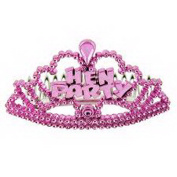 6 Mini Pink Hen Party Tiaras Hen Night Accessories Bag Fillers Girls Night Out