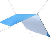 Hammock Rain Fly Tent Tarp, Portable Lightweight Waterproof Camping Shelter Sunshade for Camping Outdoor Travel