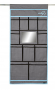 Bo-Camp Unisex BC 11 Compartment Plus Mirror Organiser, Anthracite