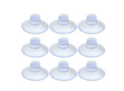 50Pcs 20mm Clear Plastic Suction Cup without Hooks
