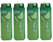 Bud Light Lime Slim Can Cooler - Set of 4