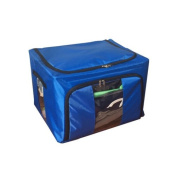 Eight24hours New Home Storage Bins Box Bag Organiser Container Case Clothing Blanket - Royal Blue