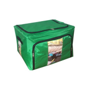 Eight24hours New Home Storage Bins Box Bag Organiser Container Case Clothing Blanket - Green