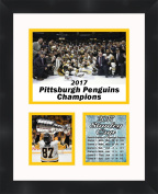 Sidney Crosby #87 2017 Stanley Cup , 11 x 14 Matted Collage Framed Photos Ready to hang