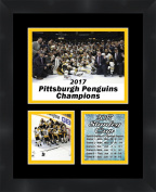 Pittsburgh Penguins 2017 Stanley Cup, 11 x 14 Matted Collage Framed Photos Ready to hang