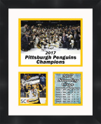 Chris kunitz 2017 Stanley Cup , 11 x 14 Matted Collage Framed Photos Ready to hang