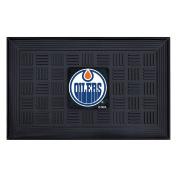FANMATS NHL Edmonton Oilers Vinyl Door Mat