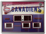 Montreal Canadiens Scoreboard Wall Clock