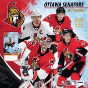 Turner Licencing Sport 2017 Ottawa Senators Team Wall Calendar, 30cm x 30cm